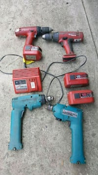 Power tools drill Batteries areno good Mustpick up