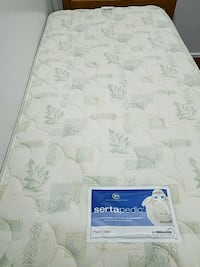 white and gray floral mattress Rockville, 20851