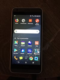 black Samsung Galaxy android smartphone St. Charles, 60174