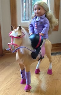 Equestrian Our Generation Doll and Horse Oakville