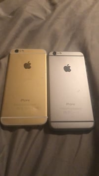 Two gold iphone 6s's 1947 mi