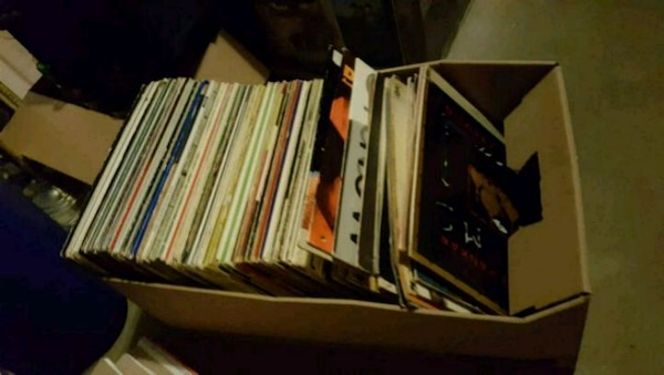 100  vinyl records lp