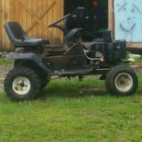 black and gray ride on mower Derry, 15627