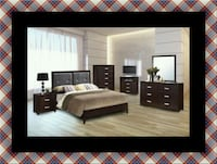 B120 11pc bedroom set with mattress McLean