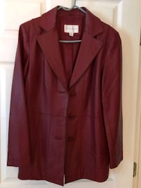 Red leather worthington jacket  Elkton, 21921