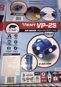 VP25 Air Mover  Garden Grove, 92843