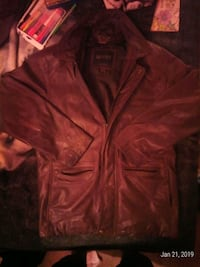 Brown Leather Danier Jacket Sizes L Burnaby, V5A 4G5