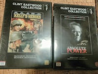 To Clint Eastwood Collection DVD-tilfeller Steinkjer, 7717
