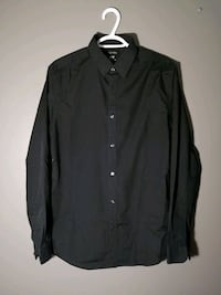 H&M Button Up Shirt - Black