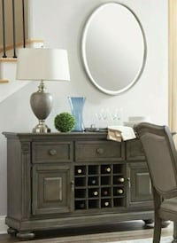 Summerdale Gray Dining Server Houston, 77036