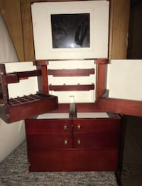 brown wooden dresser with mirror Toms River