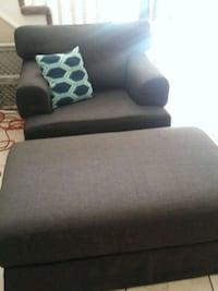 Huge comfy IKEA chair with ottoman ($60 FIRMM NOW) Denver, 80249