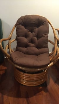 Papasan chair with cushion Miami, 33143