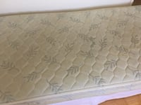 white and gray floral mattress Richmond Hill, L4S 1B9