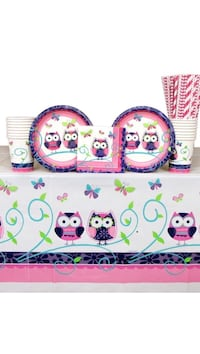Owl Pal Party Pack for 16. New.