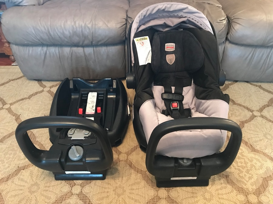Used Chaperone Britax car seat with an extra