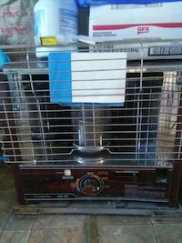 brown and gray Corona SX-3C space heater