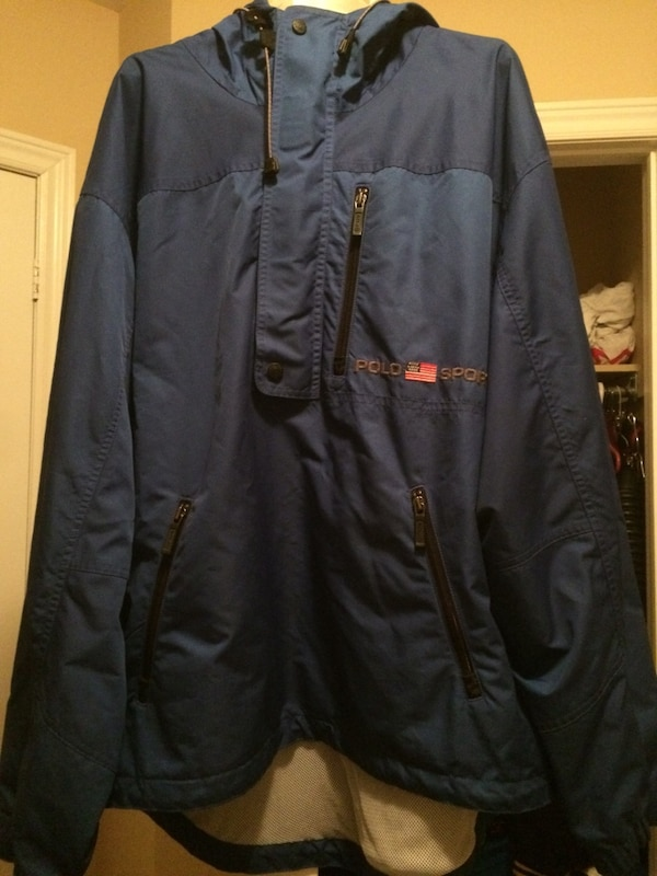 Polo Sport pull over windbreaker size large