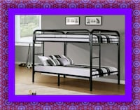 Twin bunkbed frame 2 mattress free delivery Ashburn, 20147