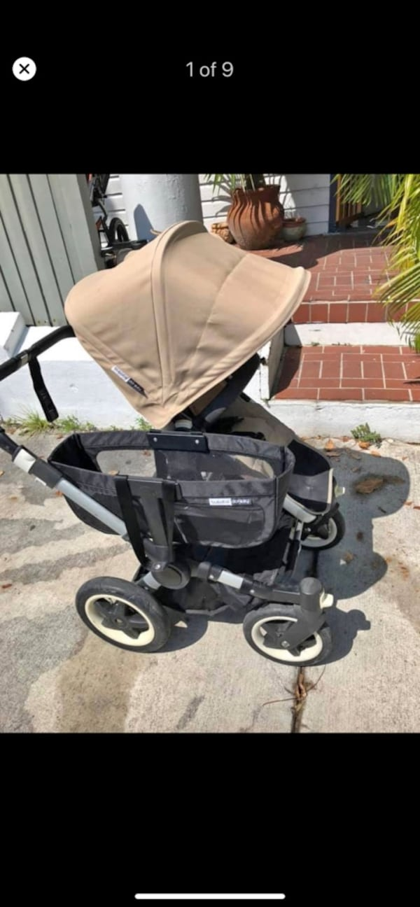 Bugaboo Donkey Duo 2 double stroller fdabfe94-2865-4974-a900-1d2742426a56