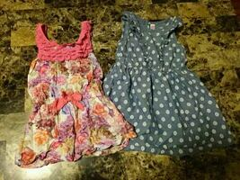 Toddler 3t two assorted dresses.