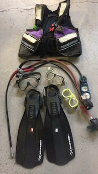 Lot of Scuba Pro diving gear Vancouver, V6Z 1W8
