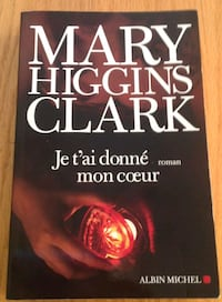 Books collections Mary Higgins Clark 787 km