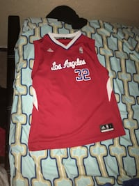 Red los angeles blake griffin jersey shirt