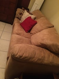 Couch set from smoke free home.  Tampa, 33634