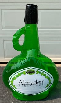Inflatable wine bottle decorations