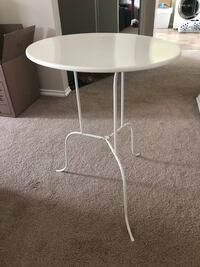 White Metal Table  Calgary, T3G 1B1
