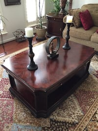 brown wooden table with chairs Gainesville