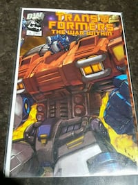 #1 Transformers comic book DW Toronto, M3C 4J1
