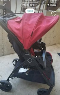 Baby's red and black stroller2015 Surrey, V3R 6G9