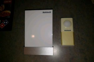 Kinetic doorbell and chime. No battery needed
