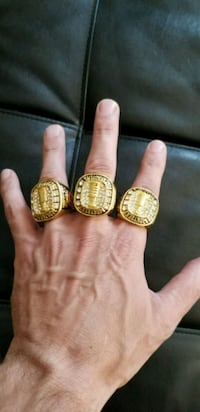 Montreal Canadian Championship play-off rings