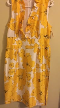 yellow and white floral spaghetti strap dress Alexandria, 22306