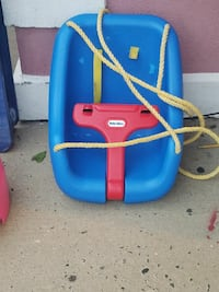 blue and red Little Tikes swing chair Lakewood Township, 08701