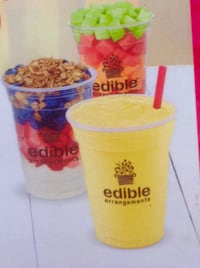 $34 Value (5 Smoothies or Parfaits at Edible Arrangements)