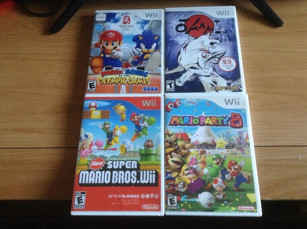 4 Wii Games for Sale/Trade  Mario Games