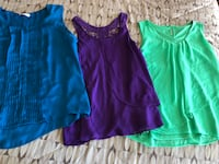 Women's XL tops