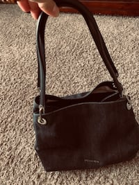 black leather 2-way bag Carrollton, 75006