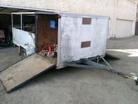 6 1/2 ft wide by 12ft long trailer Both sides open