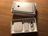 silver iPhone 6 with box < 1 km
