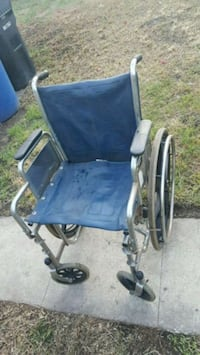 blue wheelchair 2274 mi