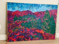 Real painting $2500 orig.price Burnaby, V5H 0E9