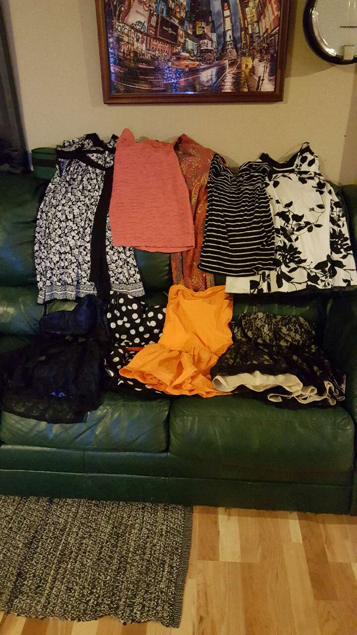 Lot of size small dresses