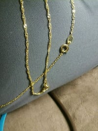 gold-colored chain necklace Montgomery, 36117