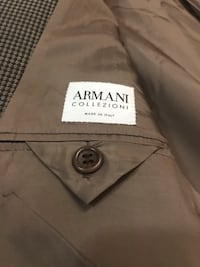 ARMANI Sport Coat - Lovely Brown Check, 44R San Diego, 92101