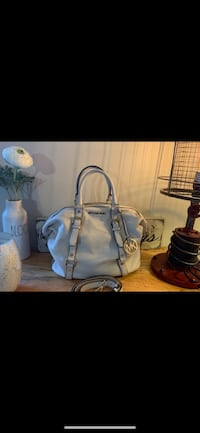 Michael Kors Bedford Bowler Large Leather Bag/ Birch White *New Price* Richmond, V7E 6S2